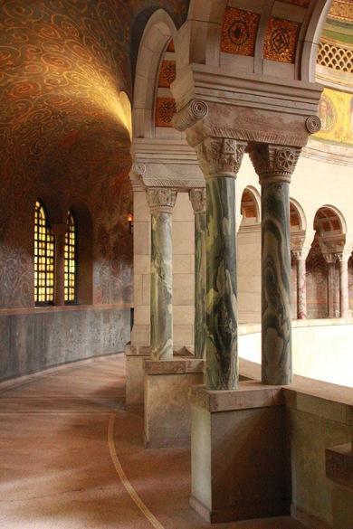 Mausoleum Bückeburg, Mausoleum im byzantinischen Stil