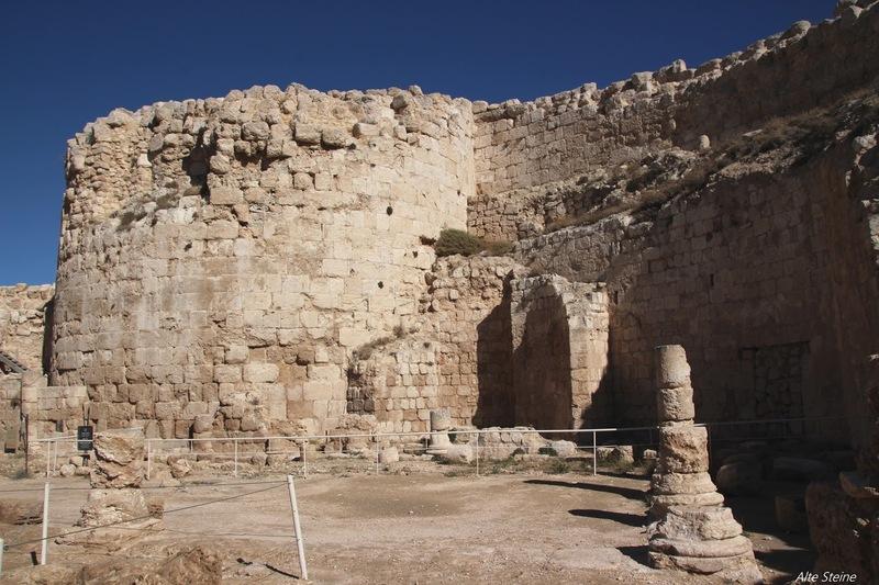 Herodion, Herodium, Palast von König Herodes, Grab von Herodes