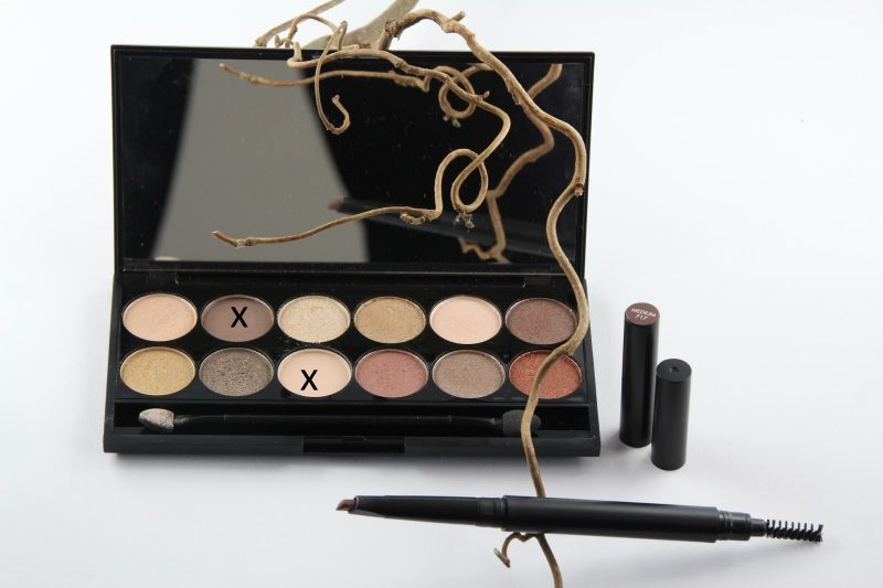 Sleek Make-Up, Sleek Nude Palette, all night long,