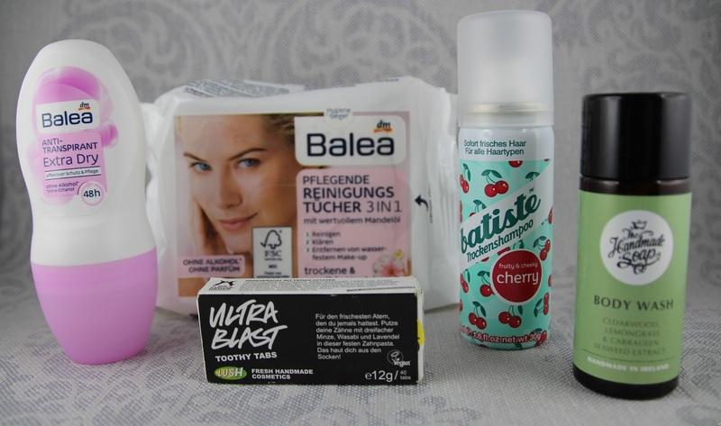 Kosmetik beim Zelten, Toothy-Tabs Lush, Inhaltsstoffe, Trockenshampoo