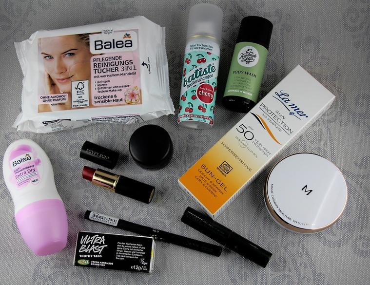 Festival-Kosmetik, Kosmetik fürs Zelten