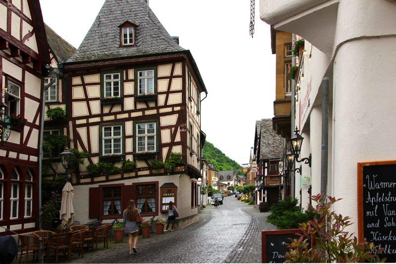 Bacharach am Rhein, Sehenswerte Altstadt am Rhein