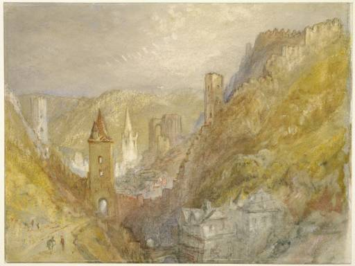"Gemälde von William Turner ""Bacharach"""