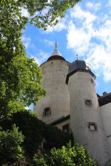 Turm der Burg Posterstein kann bestiegen werden.