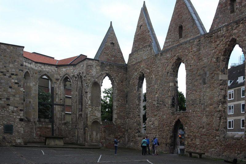 Ruine und Mahnmal der Aegidienkirche in Hannover