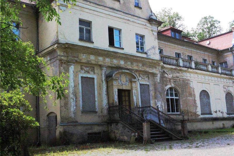 verfallenes Schloss in Sachsen, Lost Place