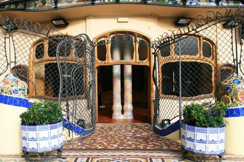 Casa Battlo von Antoni Gaudi