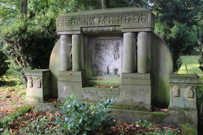 verfallener Friedhof bei Münster