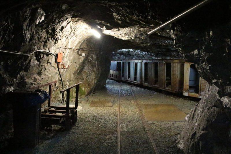 Dinner unter der Erde, im Bergwerk im Sauerland, Gruben-Dinner