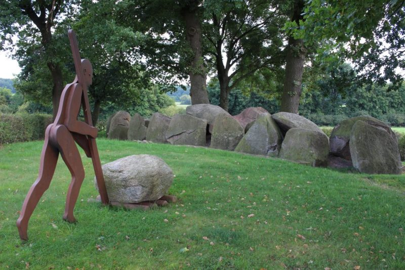 Dolmen bei Ostercappel, Osnabrücker Land, Megalithkultur