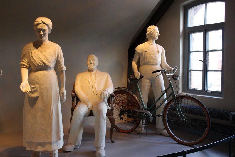 Tuchmachermuseum Bramsche, Arbeitsbedingungen Textilfabrik