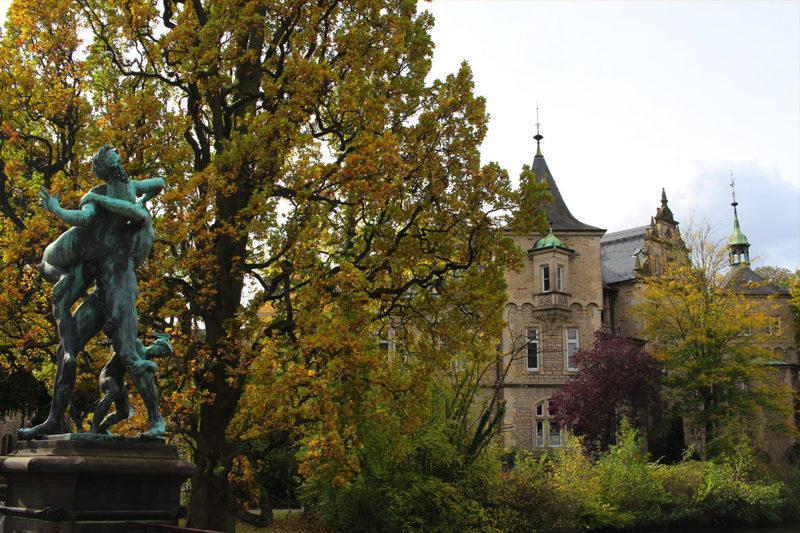 Weserrenaissance Schloss Bückeburg, Schloss bei Minden