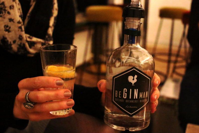 Lippischer Gin, Gin aus Lippe, Be Gin Man, Sputnik Paderborn