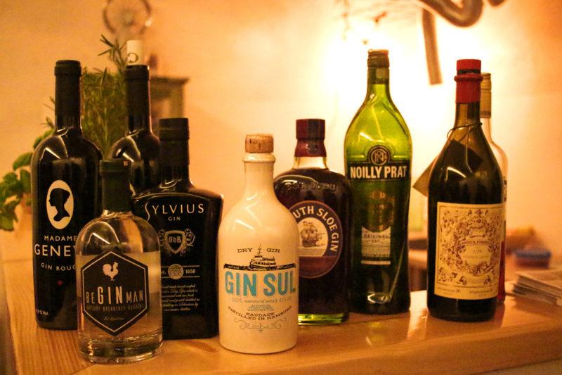 Gin, Sputnik Paderborn, Madame Geneva, Sylvius, beginman
