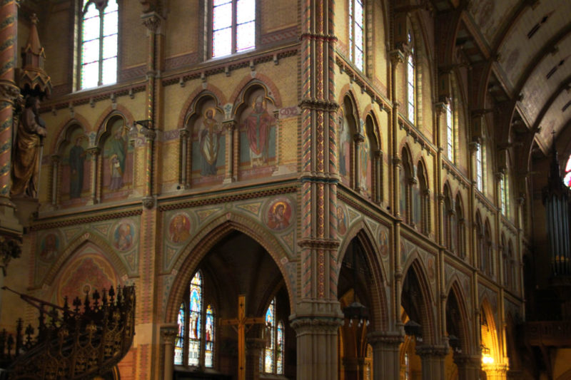 Maria van Jessekerk in Delft, Historistische Kirche, Jugendstil Delft