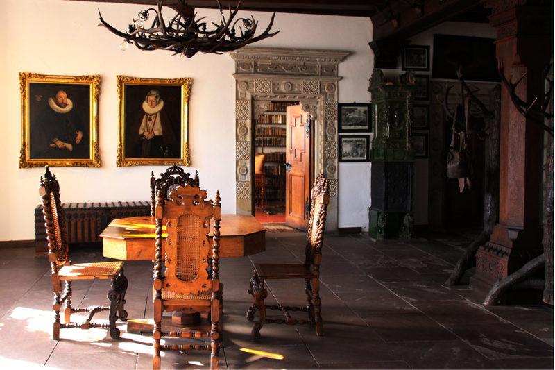 Innenräume der Hämelschenburg, Schlösser der Weserrenaissance, Schloss bei Hameln
