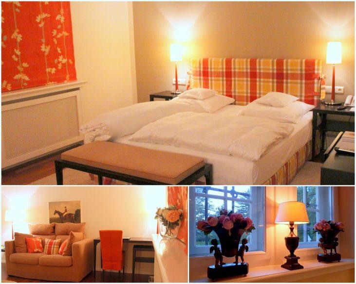 Zimmer im Schlosshotel Münchhausen, Luxushotel bei Hameln,