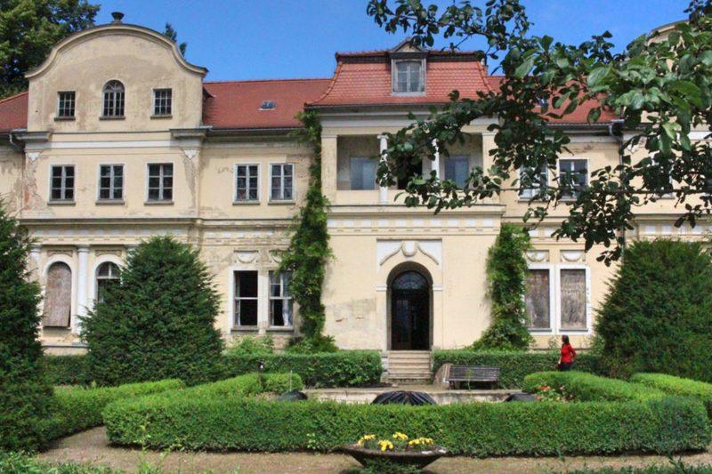 Lost Place in Thüringen, Schloss bei Zwickau,
