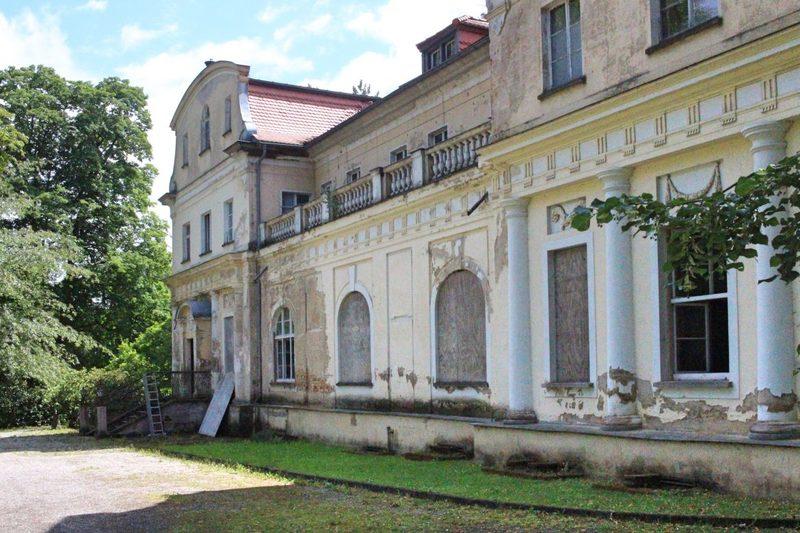 Verlassenes Schloss in Thüringen, Schloss Tannenfeld