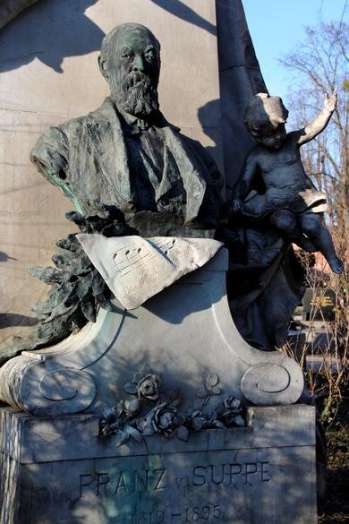 Grab von Franz von Suppe auf dem Zentralfriedhof in Wien