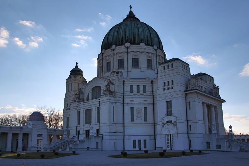 Karl-Borromäus Kirche auf dem Zentralfriedhof in Wien