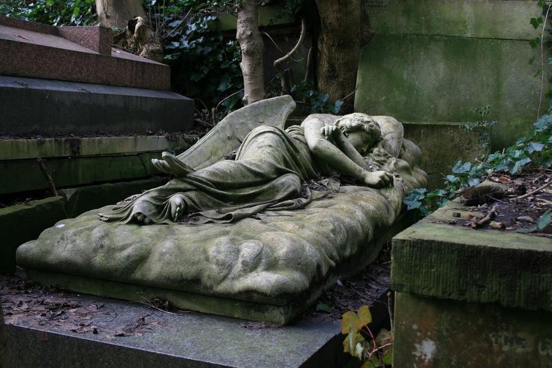 Lizzy Sidall Highgate Cemetery London Grab Grave Karl Marx Douglas Adams