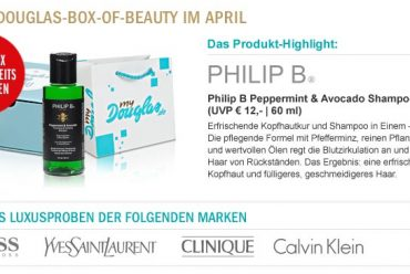 Vorschau auf die Box of Beauty – April 2012