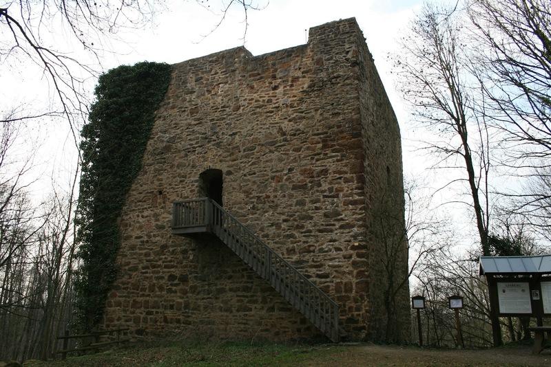 Burg Burgruine Limberg Nonnenstein Wittekindsburg Margarethenkapelle Porta Westfalica Kaiser Wilhelm Denkmal Nonnenstein Babilonie