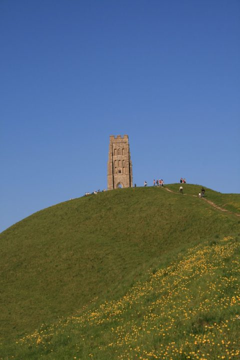 Glastonbury Tor Avalon England Artus