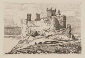 harlech castle William turner Wales
