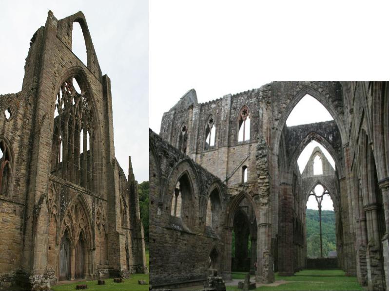 tintern abbey Turner Wales Ruine Ruin