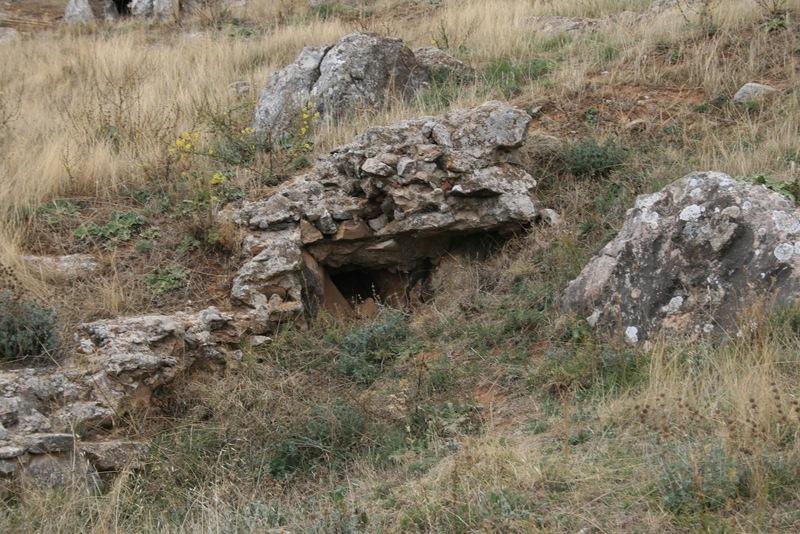 Arcena Spanien, Burg Templer Tempelritter Südspanien