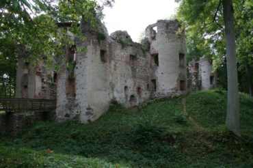 Ruine der Burg Landskron in Vorpommern