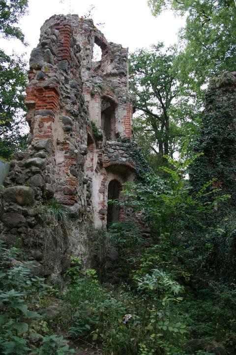 Veste Landskron Burgruine Schlossruine Mecklenburg Vorpommern Caspar David Friedrich
