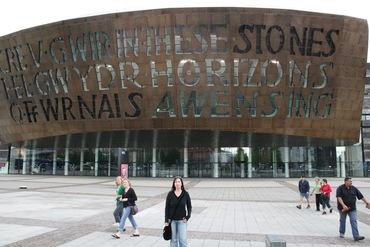 Millennium Centre in Cardiff – das Hauptquartier von Torchwood