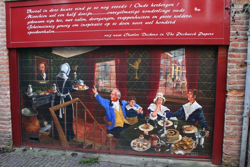 Deventer Charles Dickens Weihnachtsmarkt Festijn Niederlande