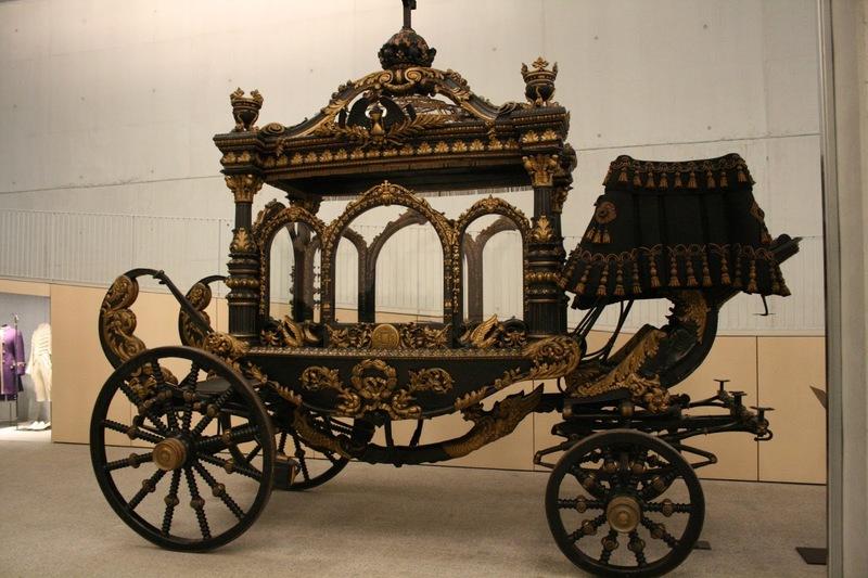Montjuic Poblenou Friedhof Cemetery Cementerio Barcelona Leichenwagen
