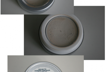 Farbloser Cream to Powder Concelaer von Alverde