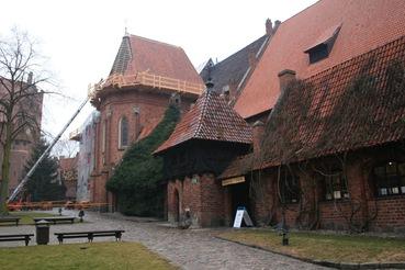 Marienburg (heute Malbork), der Haupstitz des Deutschen Ordens