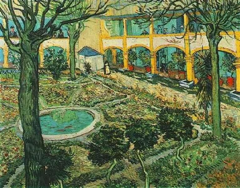 Irrenhaus von Vincent van Gogh Provence