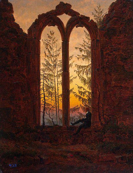 Klosterruine Oybin Caspar David Friedrich Gustav Carus