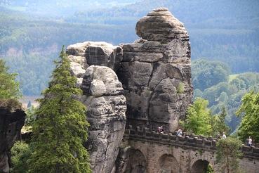Sächsische Schweiz mit Caspar David Friedrich erkunden