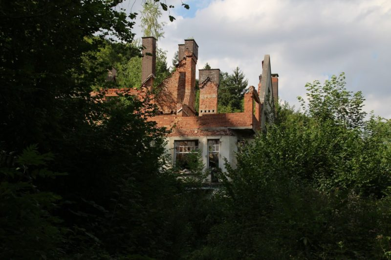 Spukhaus, Weser Lutterburg Lost place