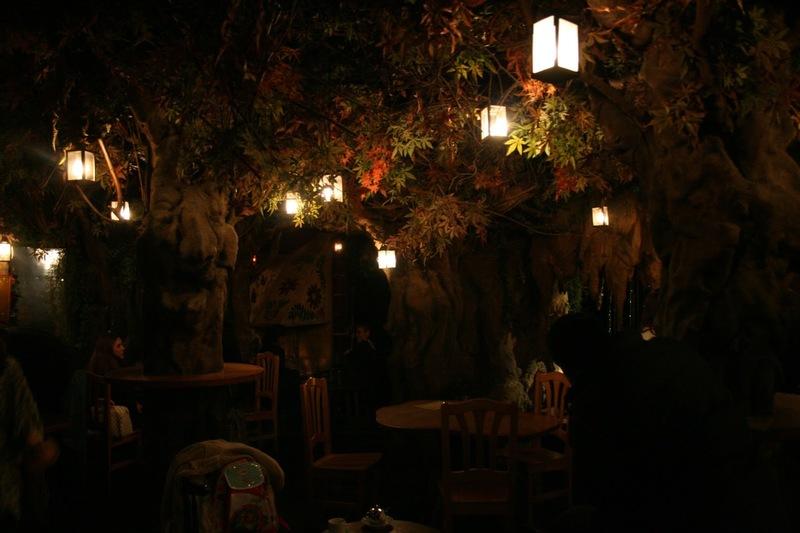Märchencafé, Bosc des fades, Café Barcelona