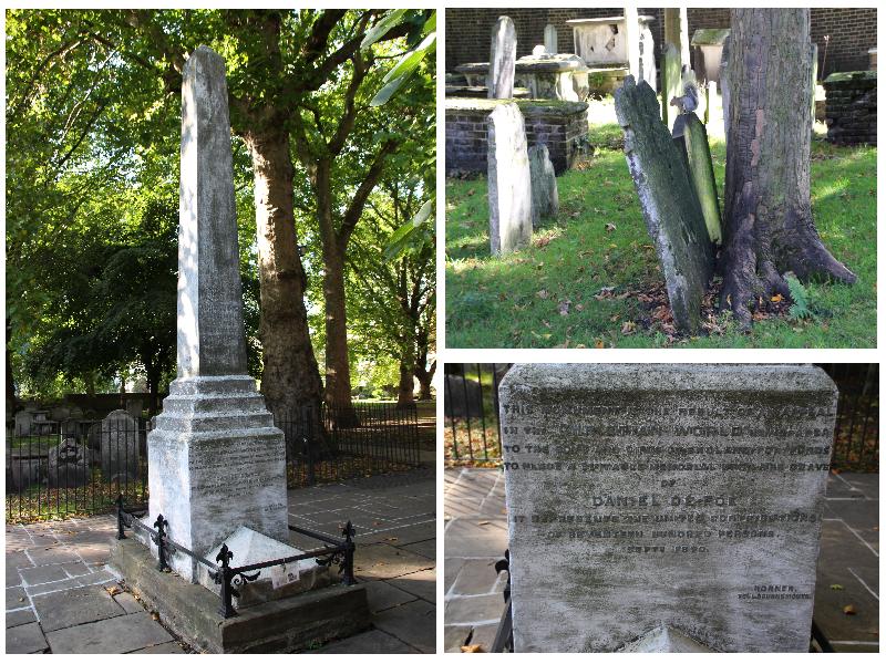 Bunhill Fields Cemetery Daniel Defoe
