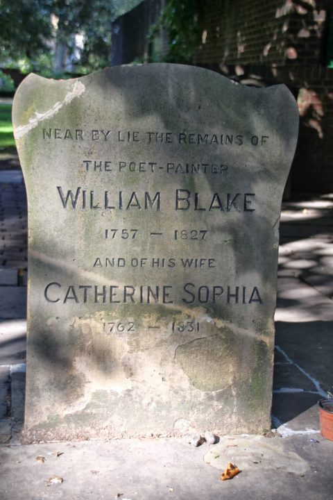 Bunhill Fields Cemetery William Blake