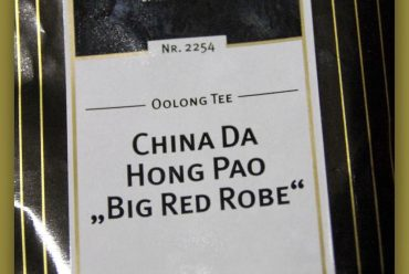 "Oolong Da Hong Pao ""Big Red Robe"""