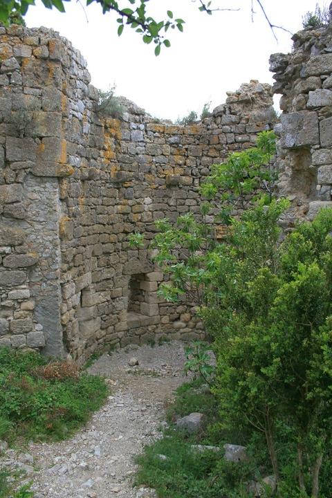 Burg Castle Aguilar Katharrer
