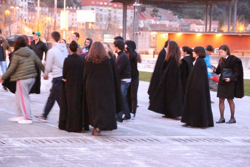 Biblithek Coimbra Harry Potter Universität