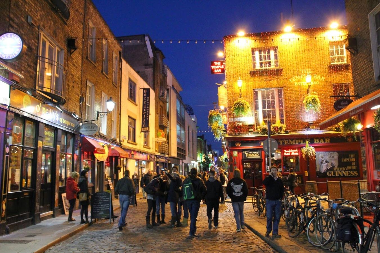 Temple Bar Dublin, literarische Kneipentour durch Dublin